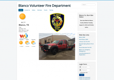 Blanco Volunteer Fire Department