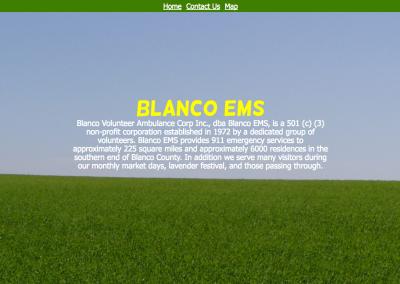 Blanco EMS