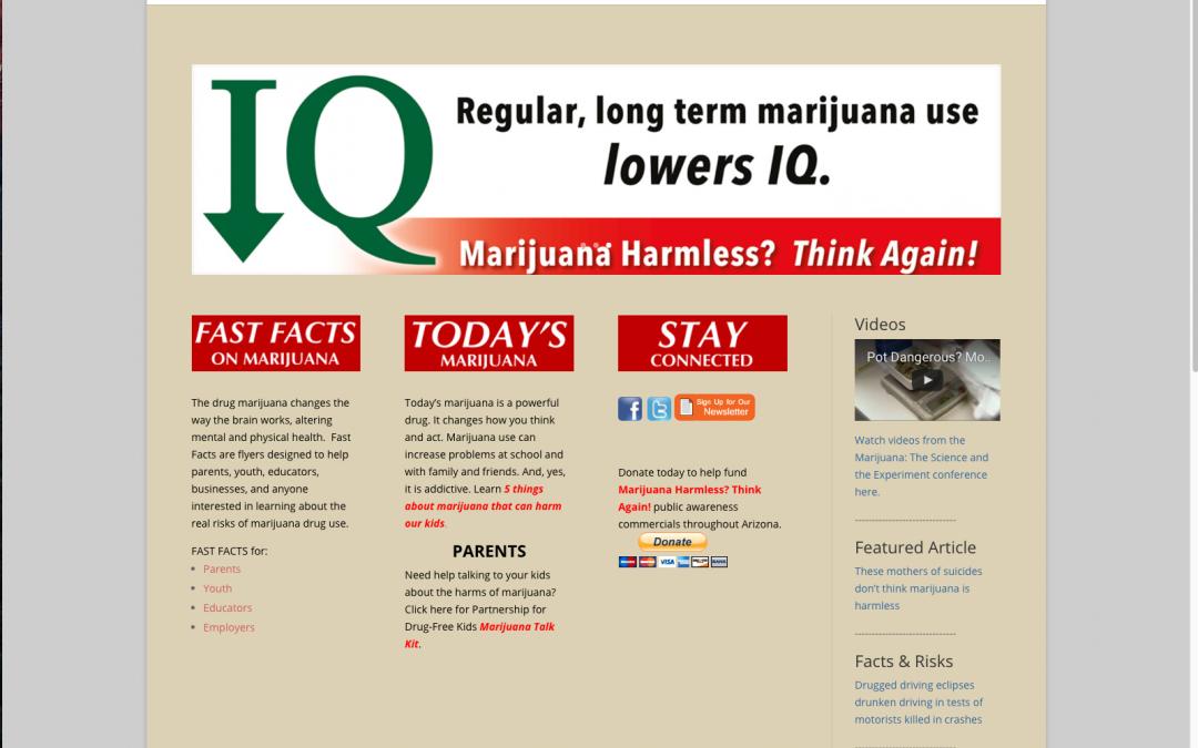 Marijuana Harmless? Think Again