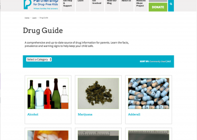 Parent Drug Guide