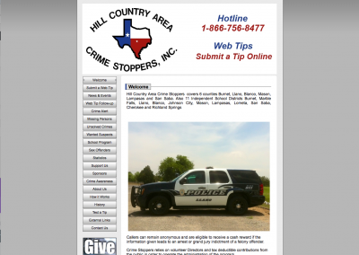 Hill Country Area Crimestoppers