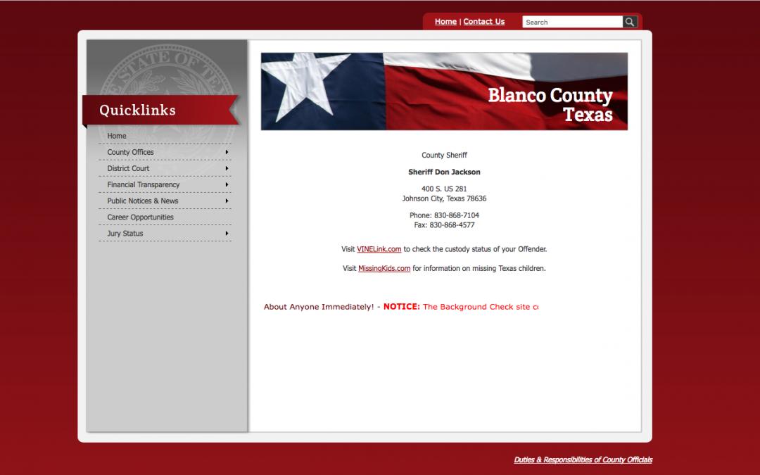 Blanco County Sheriff's Office