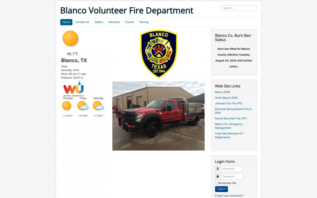 Blanco Volunteer Fire Department