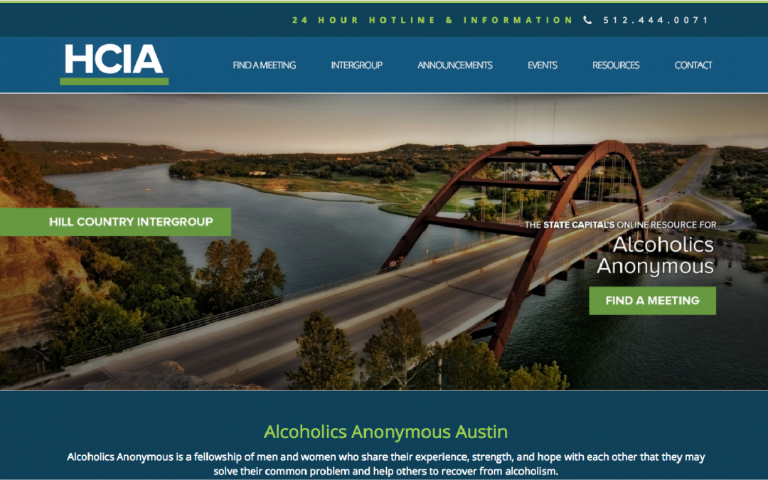 Alcoholic Anonymous – Hill Country Intergroup